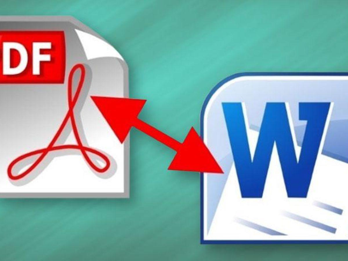 أفضل أدوات تحويل ملفات Pdf إلى مستندات Word