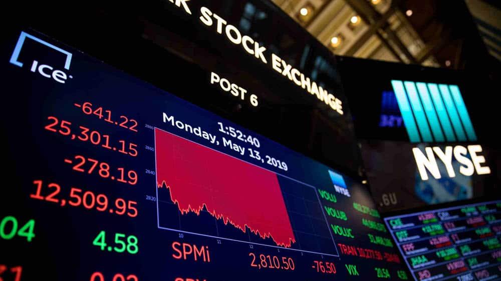 رسالة البورصات العالمية إلى الصين وأمريكا حول الحرب التجارية