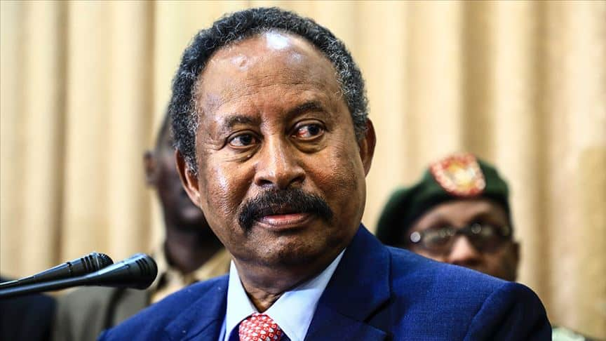 عبد الله حمدوك أمل السودان لكتابة بداية نهاية الأزمة الإقتصادية