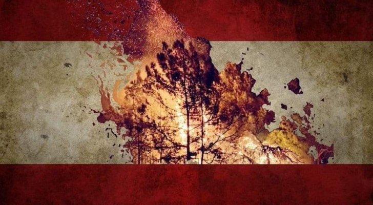 لبنان يحترق اقتصاديا بالتوازي مع حرائق الغابات