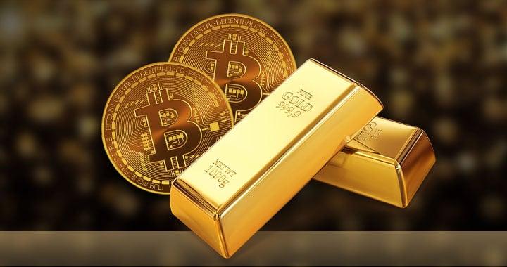 أوجه التشابه والإختلاف بين الذهب وعملة البيتكوين