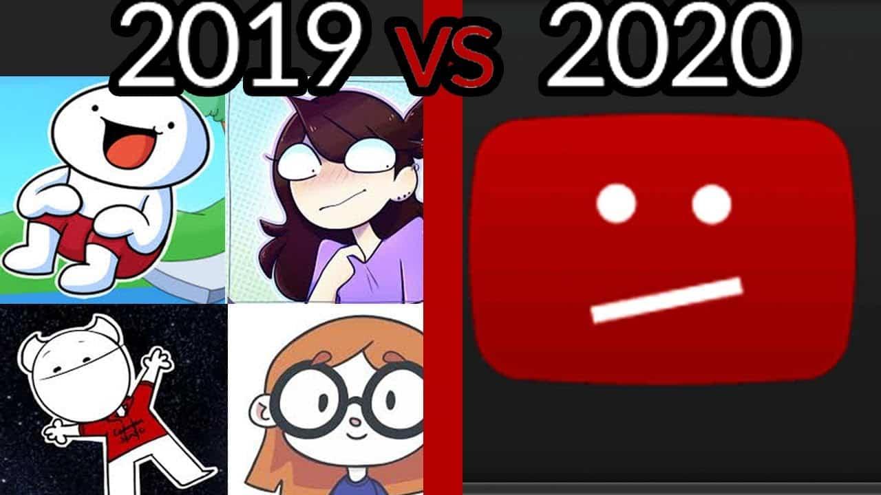 انخفاض أرباح قنوات يوتيوب ابتداء من يناير 2020