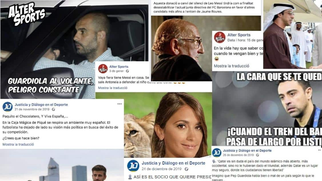 فضيحة برشلونة: توظيف الذباب الإلكتروني والأخبار المزيفة في كرة القدم