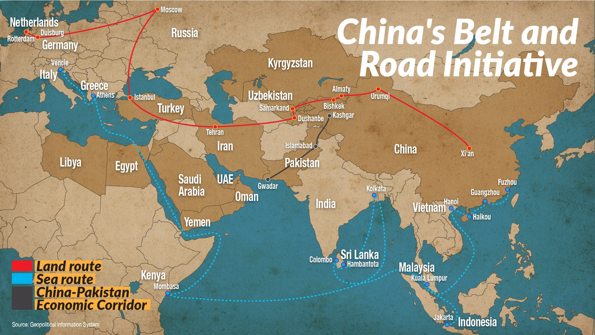 تأثير أزمة فيروس كورونا على طريق الحرير الجديد من الصين