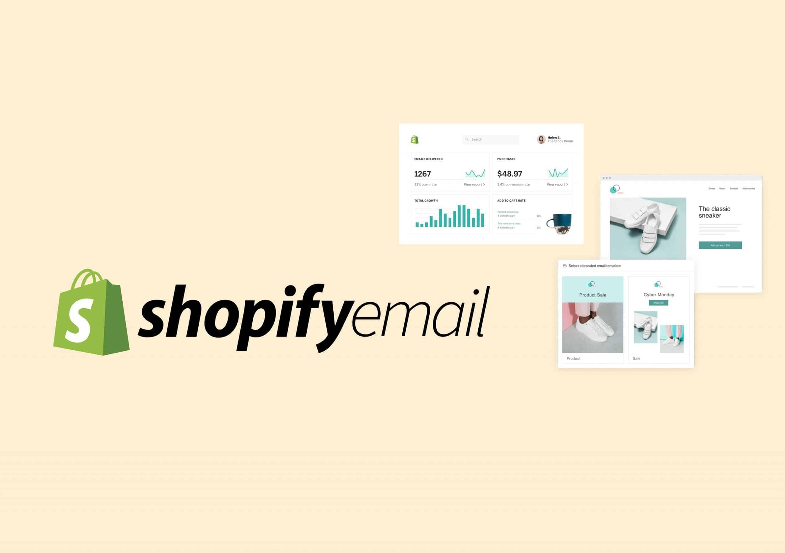 أداة Shopify Email مجانا لزيادة مبيعات شوبيفاي