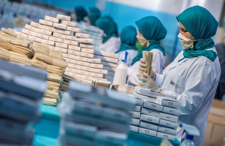 بالأرقام تصنيع الكمامات في المغرب وتصديرها