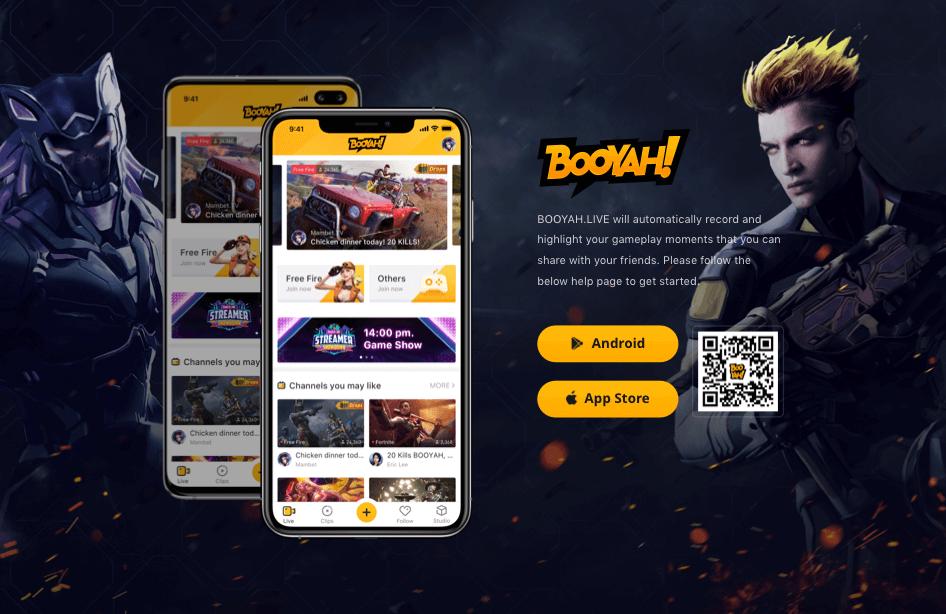 تحميل تطبيق BOOYAH كسب جواهر فري فاير مجانا