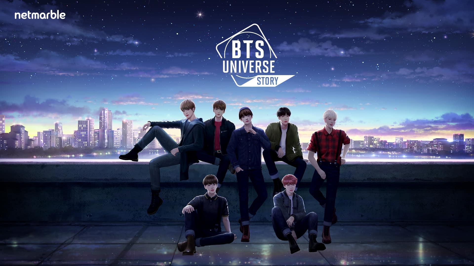 تحميل لعبة BTS Universe Story مجانا وبرابط مباشر