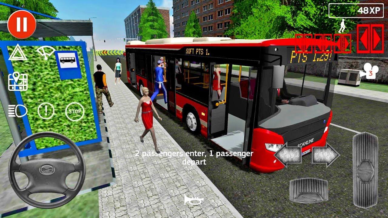 تنزيل لعبة محاكي الباصات Public Transport Simulator