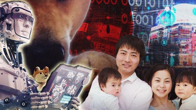اليابان: الذكاء الإصطناعي وحل مشكلة انهيار الإنجاب