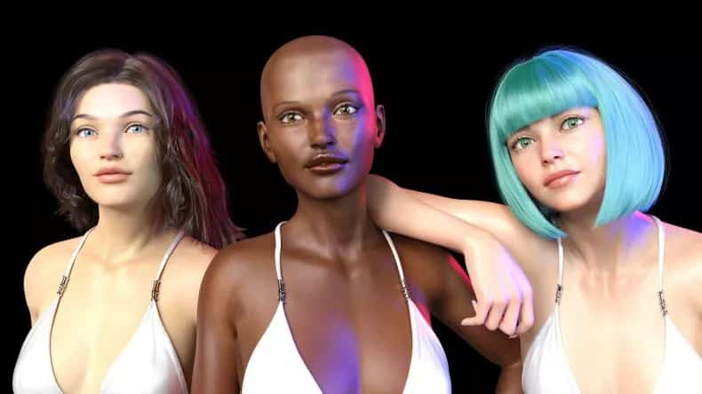 بداية ثورة عارضات الأزياء الرقمية