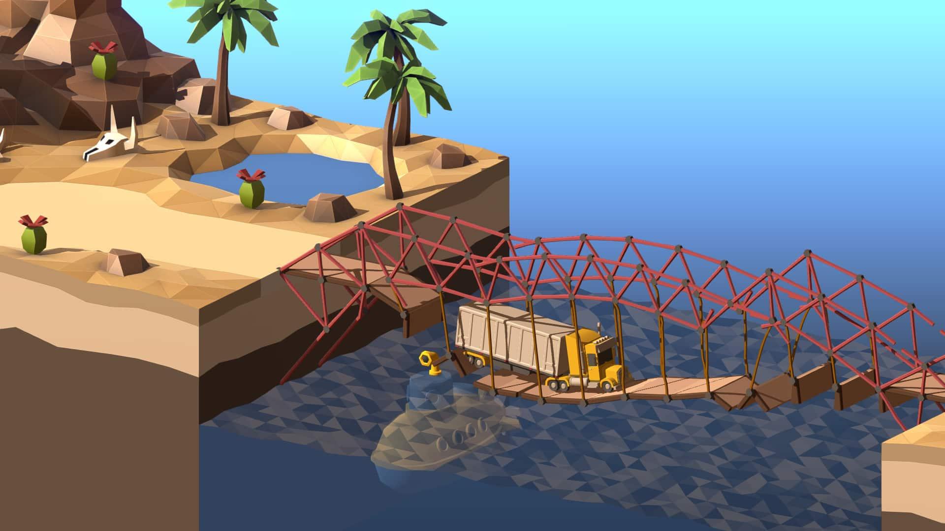 تحميل لعبة poly bridge 2 مجانا الآن