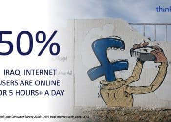 احصائيات عن التجارة الإلكترونية والإنترنت في العراق