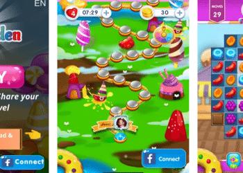 تنزيل Candy Garden بديل كاندي كراش أندرويد و آيفون