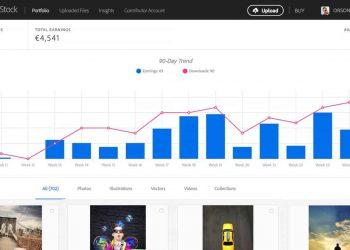 منصة Adobe Stock كسب المال من بيع الصور والفيديو أونلاين