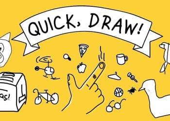 لعبة تحدي الرسم في 20 ثانية Quick Draw من جوجل