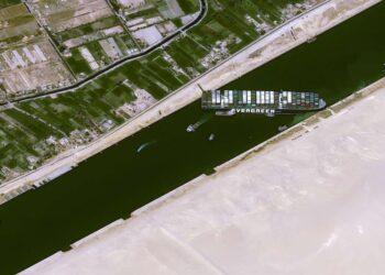 مؤامرة السفينة الجانحة بقناة السويس ضد مصر