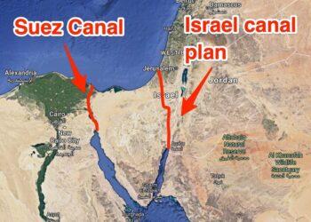 مبادرات بديل قناة السويس من إسرائيل والإمارات