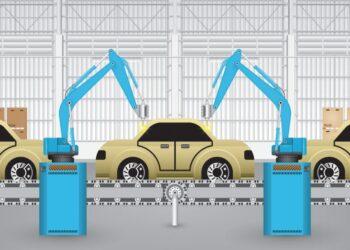 تطبيقات الروبوتات في صناعة السيارات