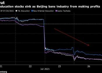 سبب انهيار الأسهم الصينية في مجالي التعليم والتكنولوجيا