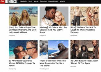 من Outbrain إلى Taboola حقائق عن إعلانات المحتوى