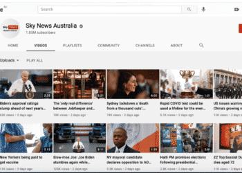 يوتيوب يعاقب قناة سكاي نيوز أستراليا بسبب فيروس كورونا